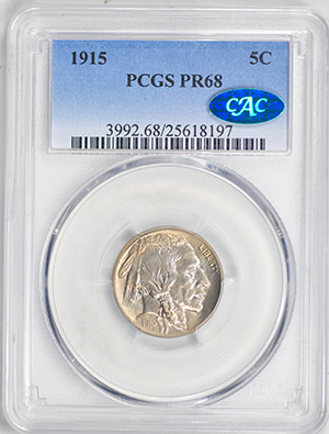 Picture of 1915 BUFFALO 5C PR68