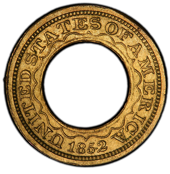Picture of 1852 RING G$1 J-148B PR63