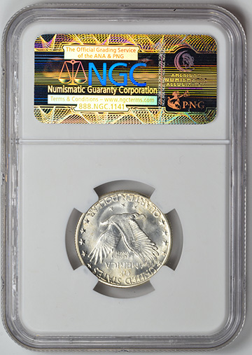 Picture of 1924-S STANDING LIBERTY 25C, TYPE 2 MS67 Full Head
