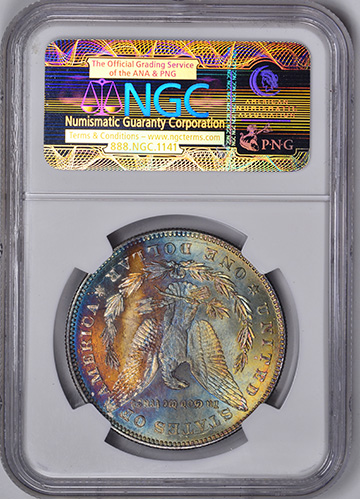 Picture of 1878 7/8TF MORGAN S$1, STRONG MS66
