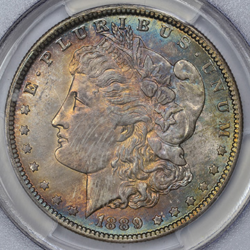 Picture of 1889-O MORGAN S$1 MS65