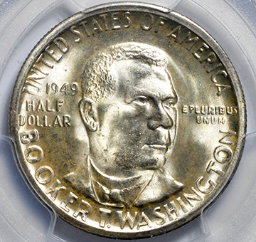Picture of 1949-S BTW SILVER 50C MS67