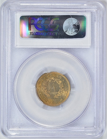 Picture of 1912 LIBERTY HEAD 5C MS66