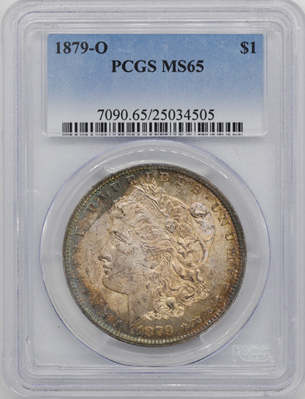 Picture of 1879-O MORGAN S$1 MS65