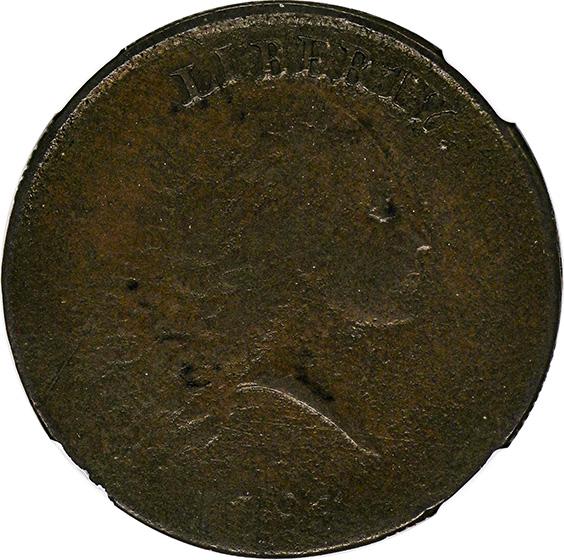 Picture of 1793 CHAIN 1C, AMERICA VF20