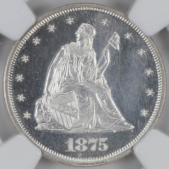 Picture of 1875 20C PR65 Cameo