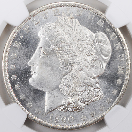 Picture of 1890-O MORGAN S$1 MS66 Proof Like