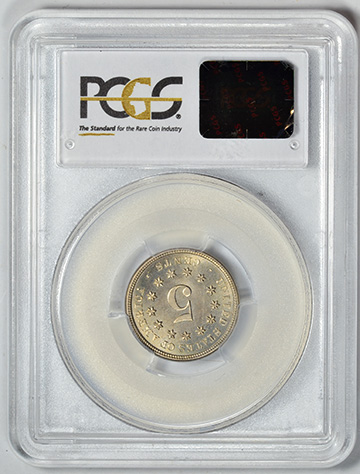 Picture of 1874 SHIELD 5C PR67