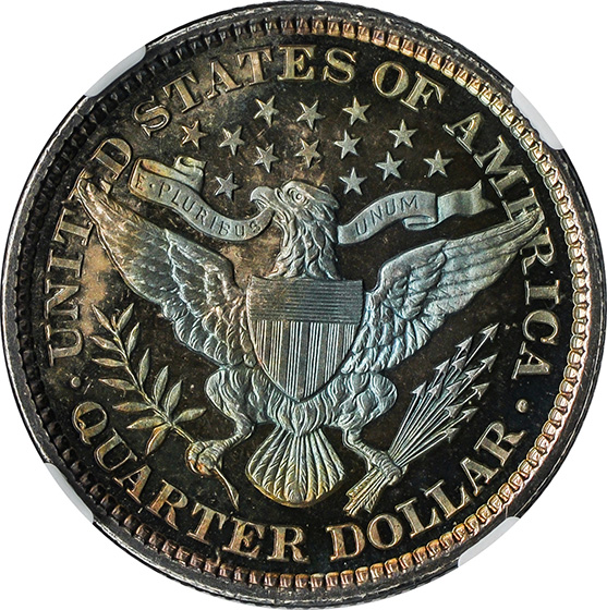 Picture of 1898 BARBER 25C PR68