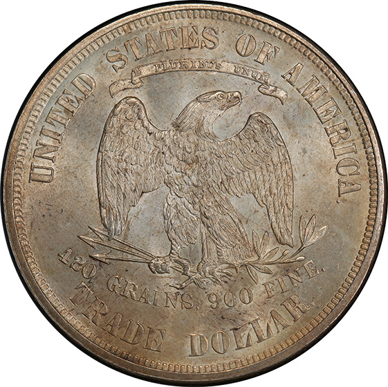 Picture of 1873 TRADE T$1, TRADE MS65