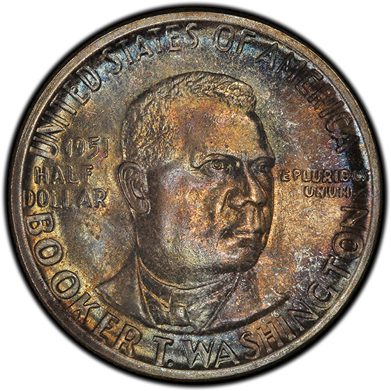 Picture of 1951 BTW SILVER 50C MS67