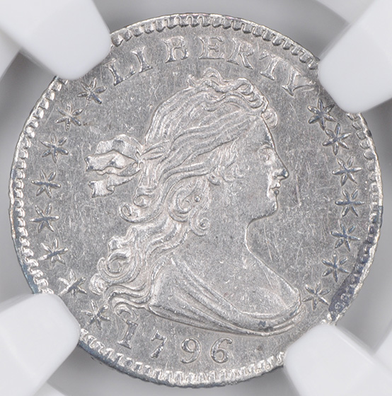 Picture of 1796 DRAPED BUST H10C MS63