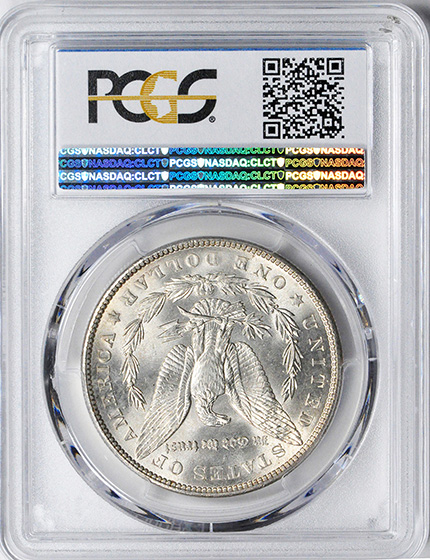 Picture of 1904 MORGAN S$1 MS66