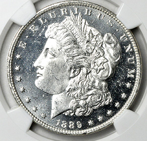 Picture of 1889-O MORGAN S$1 MS65 DMPL