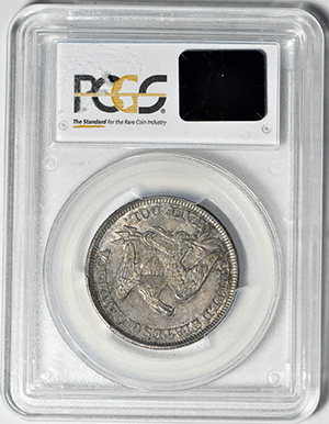 Picture of 1857 LIBERTY SEATED 50C, NO MOTTO MS65