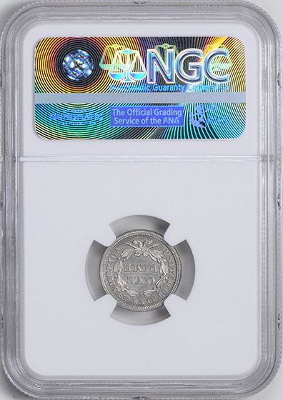 Picture of 1852 LIBERTY SEATED 10C PR65