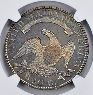 Picture of 1818 CAPPED BUST 50C PR65