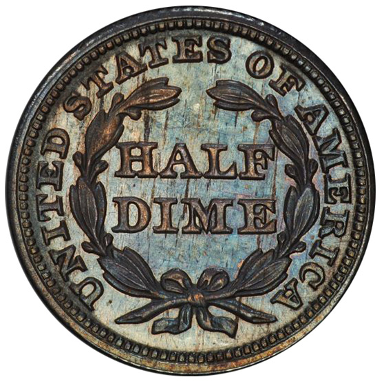 Picture of 1850 LIBERTY SEATED H10C PR65