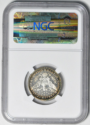 Picture of 1910 BARBER 25C PR68 Cameo