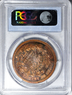 Picture of 1872 $1 J-1217 PR65 Red Brown