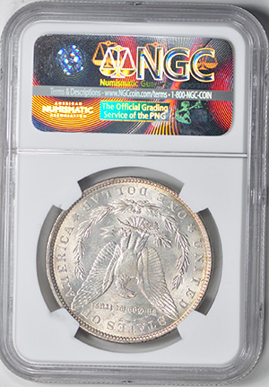 Picture of 1901 MORGAN S$1 MS63