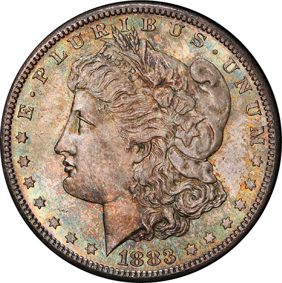 Picture of 1883-S MORGAN S$1 MS65