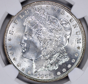 Picture of 1888 MORGAN S$1 MS67