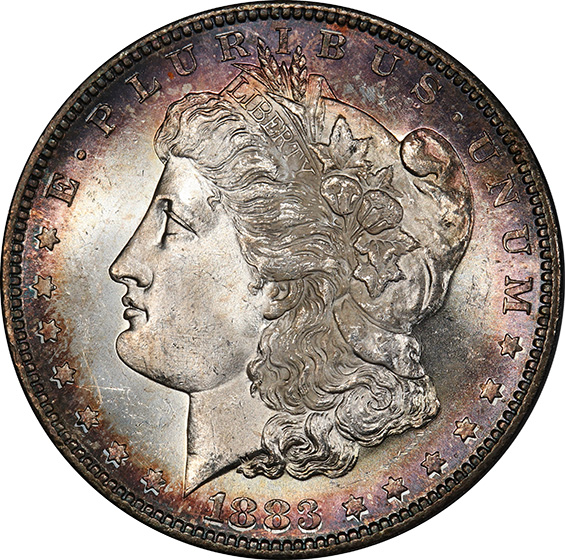 Picture of 1883-S MORGAN S$1 MS64