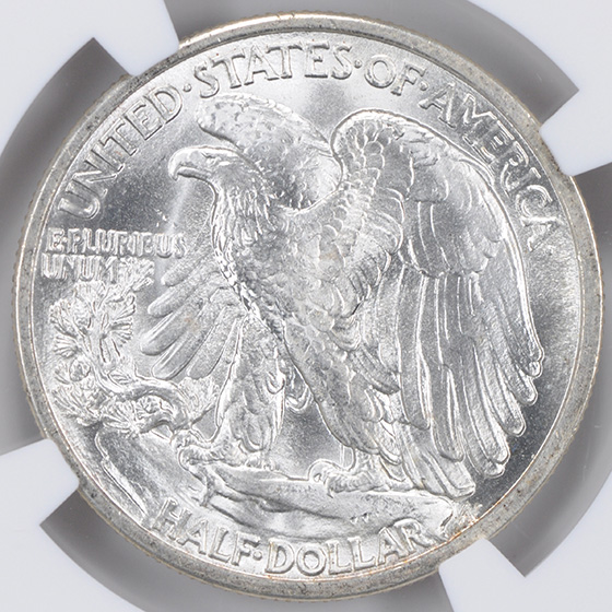 Picture of 1916-D WALKING LIBERTY 50C MS67