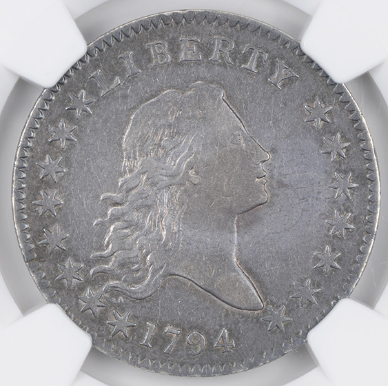 Picture of 1794 FLOWING HAIR 50C AU53