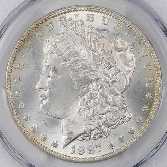 Picture of 1887-O MORGAN S$1 MS65+