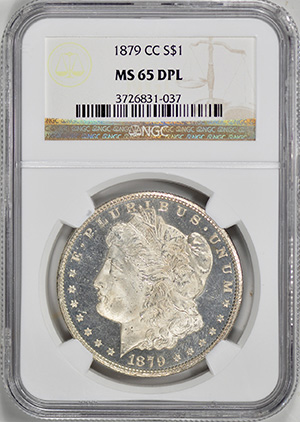 Picture of 1879-CC MORGAN S$1 MS65 Deep Mirror