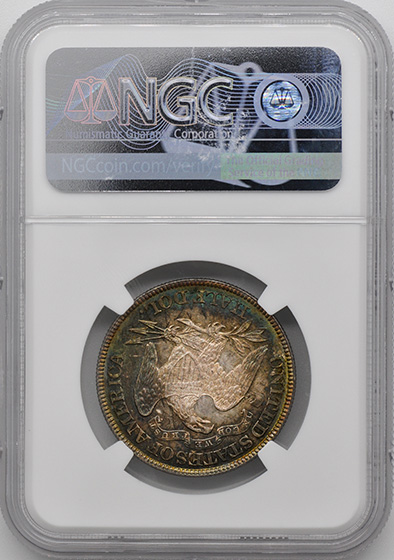 Picture of 1882 LIBERTY SEATED 50C MS67+