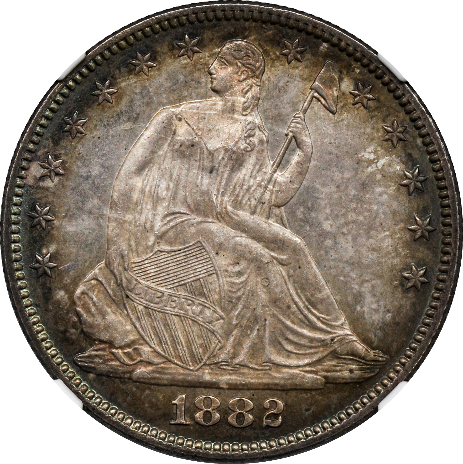 1882 Liberty Seated 50c Rare Coin Wholesalers A S L