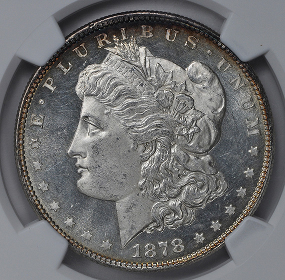Picture of 1878 8TF MORGAN S$1 MS65 DMPL