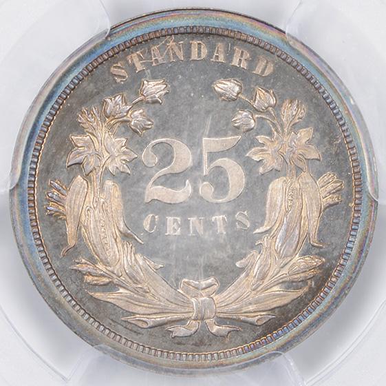 Picture of 1870 - 25C J-877 PR65