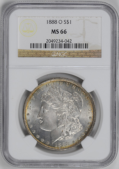 Picture of 1888-O MORGAN S$1 MS66