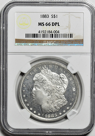 Picture of 1883 MORGAN S$1 MS66 Deep Mirror