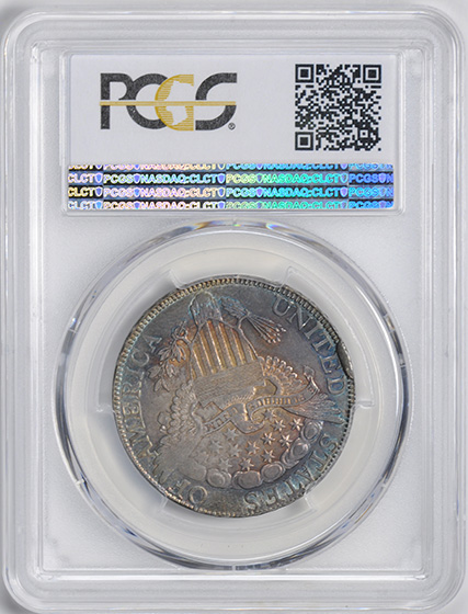 Picture of 1806 DRAPED BUST 50C, 6 OVER INVERTED 6 MS62