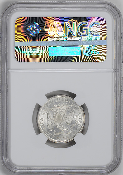 Picture of 1873 LIBERTY SEATED 25C, NO ARROWS, CLOSED 3 MS63