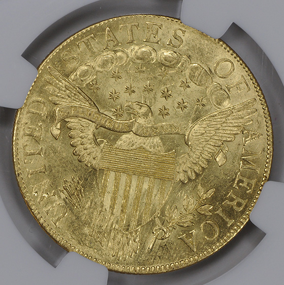 Picture of 1803 BUST $10, SMALL STARS REVERSE, LARGE EAGLE MS63