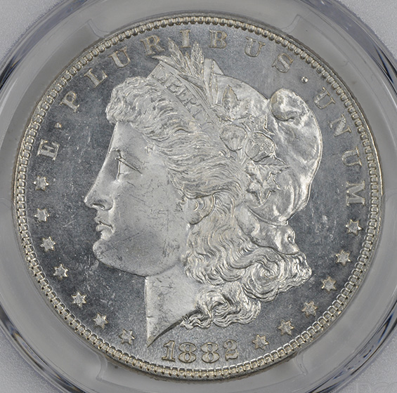 Picture of 1882 MORGAN S$1 MS65 DMPL