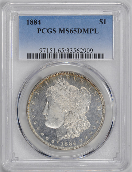 Picture of 1884 MORGAN S$1 MS65 Deep Mirror