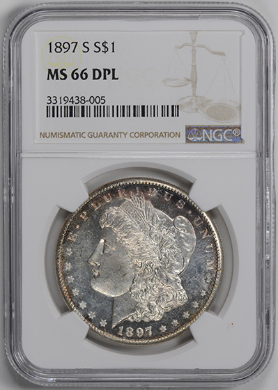 Picture of 1897-S MORGAN S$1 MS66 Deep Mirror