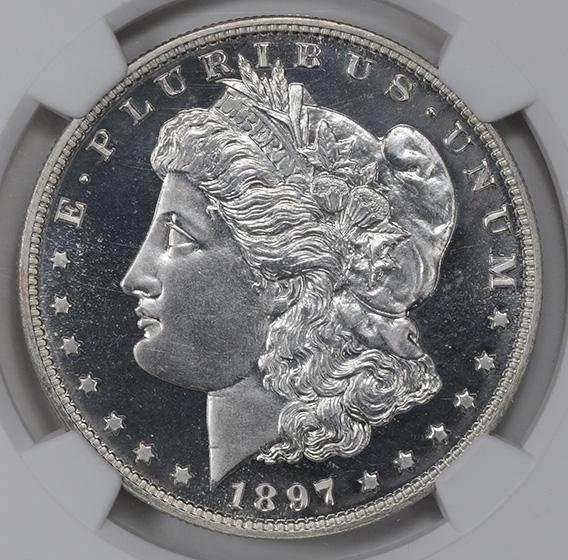 Picture of 1897 MORGAN S$1 PR67 Cameo