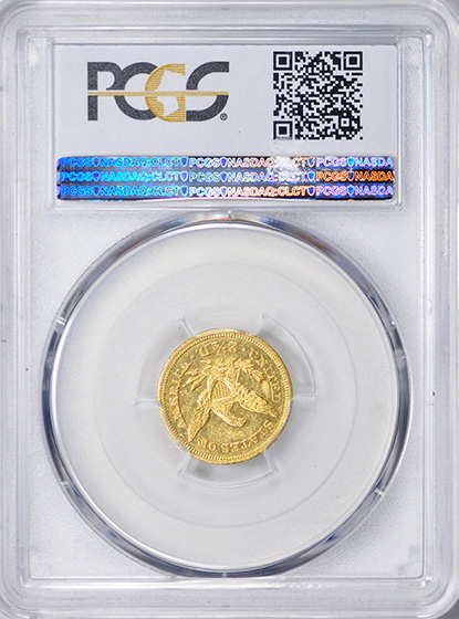 Picture of 1850-C LIBERTY $2 1/2 MS62