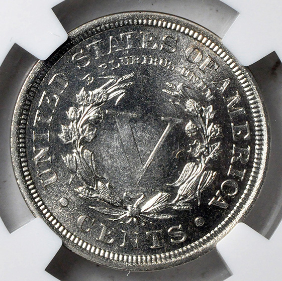 Picture of 1909 LIBERTY HEAD 5C PR68