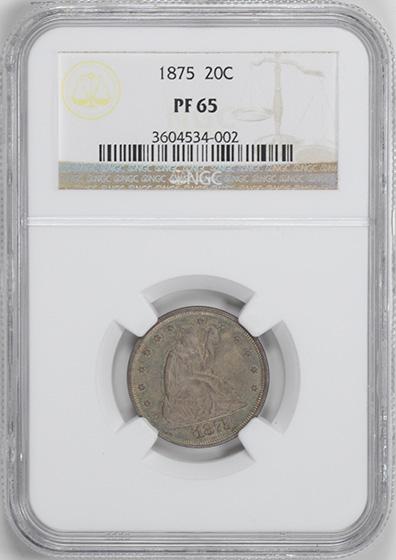 Picture of 1875 20C PR65
