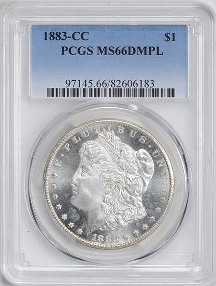 Picture of 1883-CC MORGAN $1 MS66 Deep Mirror