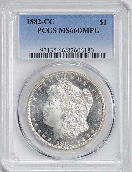 Picture of 1882-CC MORGAN S$1 MS66 Deep Mirror